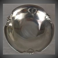 Art deco Silver Plated Low Compote