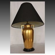 Art Deco Bavarian Porcelain Table Lamp
