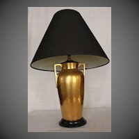 Art Deco Heinrich & Company, Selb Bavaria Porcelain Table Lamp