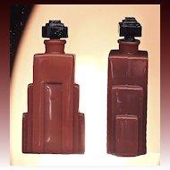 Langlois Duska small Art Deco scent bottle