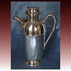 American Silverplate Art Deco Cocktail Shaker