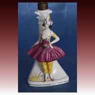 German art Deco Boudoir Lamp 1920's Ballet Russe Dancer