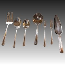 60 Piece Set of Towle Sterling Candlelight Flatware Circa 1934