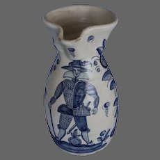 An Old Talavera Potteries Pitcher Hand-Painted in the 17th Century Style