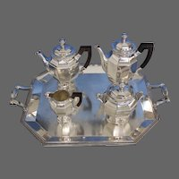 Christolfe Art Deco Coffee and Tea Service Circa 1940