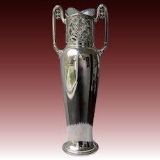 WMF Jugendstil Silverplated Vase