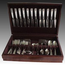 """Holmes & Edwards """"Century"""" Formal Luncheon Flatware Service for 12"""