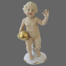Schau Bach Kunst, Putto with a Golden Orb