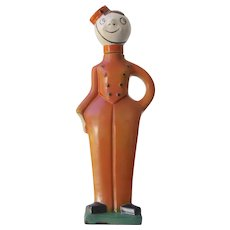 Goebel Art Deco Bellhop Liquor Decanter