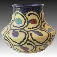 Czech Ditmar Urbach Co. Art Deco Vase