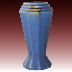 Faiencerie Thulin Belgium Art Deco Cubist Vase