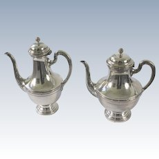 Breidenstein & Renaud Silverplate Coffee and Tea Pot