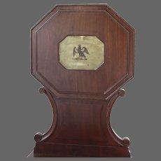 Pair of Mahogany English Regency Hall Chairs