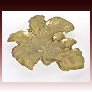 Virginia Metalcrafters Fig Leaf tray c. 1949
