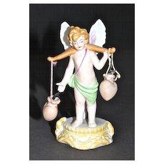 Hertwig Bisque Cupid, a Valentine's Day Favor.