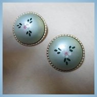 Fabulous Signed Alice Vintage Madmen Style Earrings