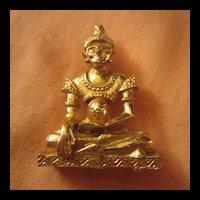 Buddha Spiritual Goddess Deity Brooch
