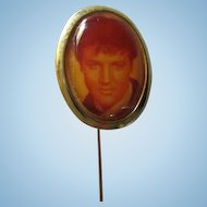 Rare Young Elvis Presley The King 1960s Vintage Stick Pin