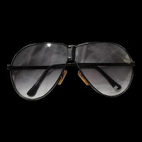 Corvette Folding Aviator Sunglasses Case