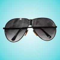 Corvette Folding Aviator Sunglasses Case