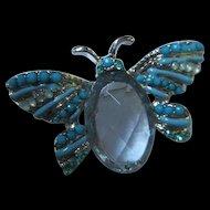 Cute as a Bug Vintage Brooch Pin