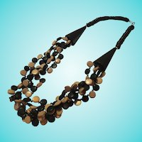 Fab Wood Necklace
