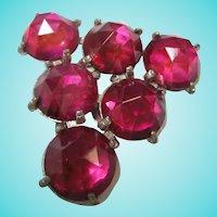Raspberry Pink Dress Clip