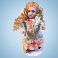 """All Bisque German Doll 4 1/4"""""""