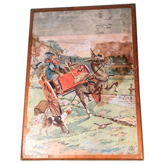Early 20th Century Picture Block Set