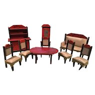 Very Old Dollhouse Furniture