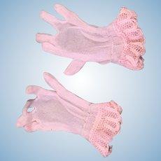 50's Fashion Doll Gloves