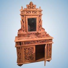 Intricate Doll Fretwork Dresser