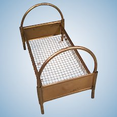 Vintage Doll House Bed