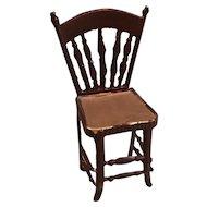 Vintage Metal Dollhouse Chair
