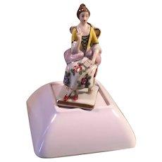 Small Porcelain Lady Figurine