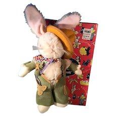 Rare GUND Pistol Packing Bunny