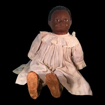 Black American Primitive Baby Doll