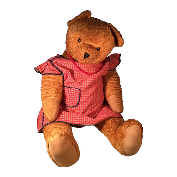 Big Gold Teddy Bear