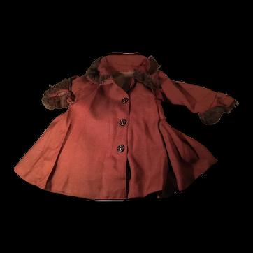 Doll Coat, Bonnet & Muff