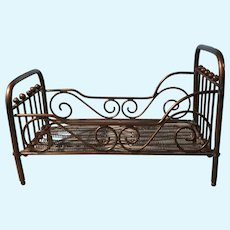 Marklin Brass Doll Bed