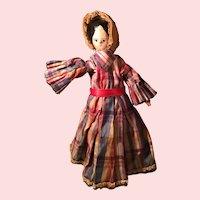 Early Wood Dutch Doll