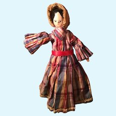 Early Wood Dutch Doll