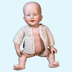 "All Bisque 11"" Limbach Germany Infant"