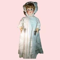 """Queen Louise"" German Bisque Head Doll"