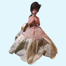 Celluloid Pincushion Doll