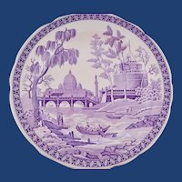 European Spode Archive Collection Large Plate Vintage Georgian Series