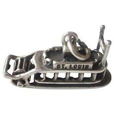 Vintage 3-D St Louis Steam Boat Charm/Pendant