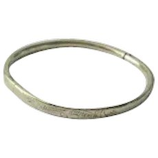 Lovely Vintage 14K Gold-Filled Bangle Bracelet