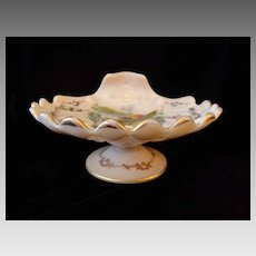 Cambridge Crown Tuscan Charleton Harbor Decoration footed  Sea Shell Compote