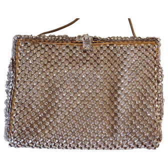 1930's Diamante Evening Purse